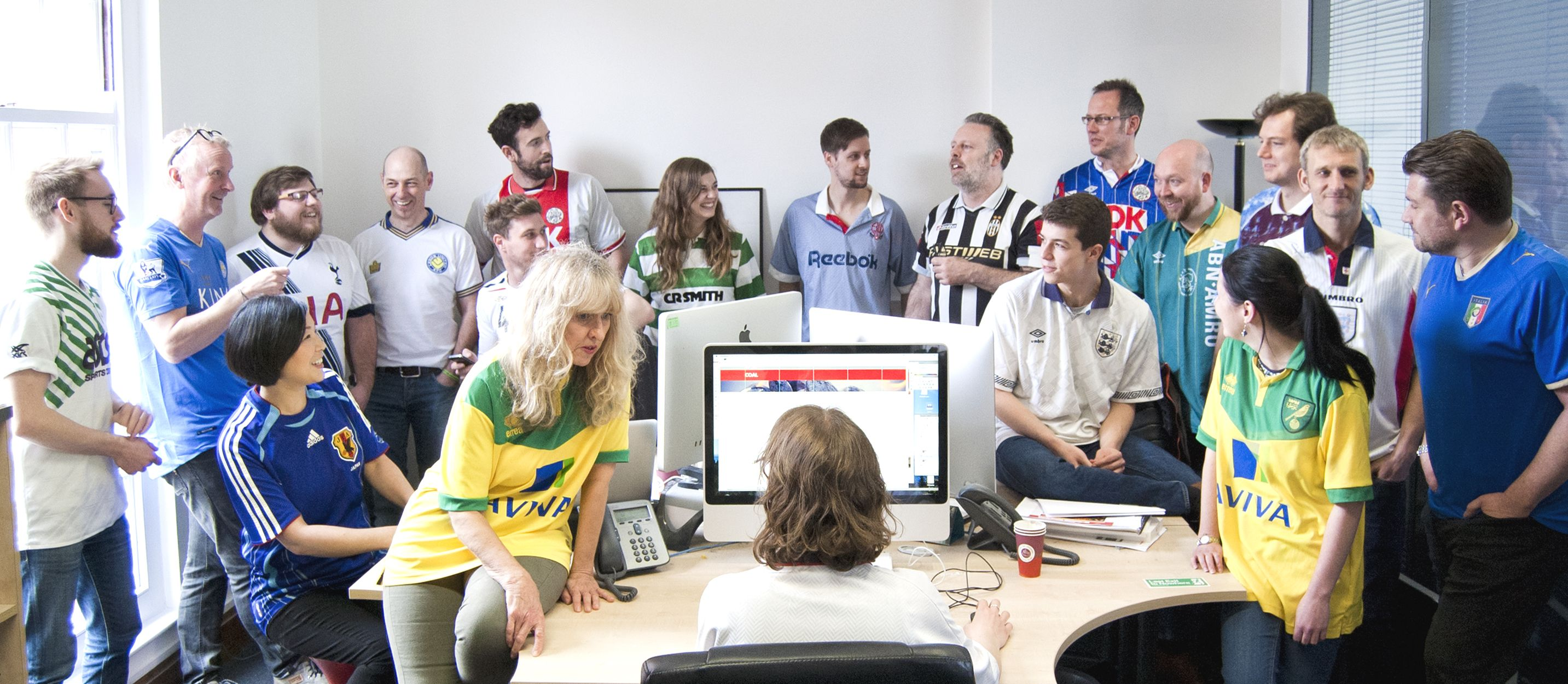 #FootballShirtFriday
