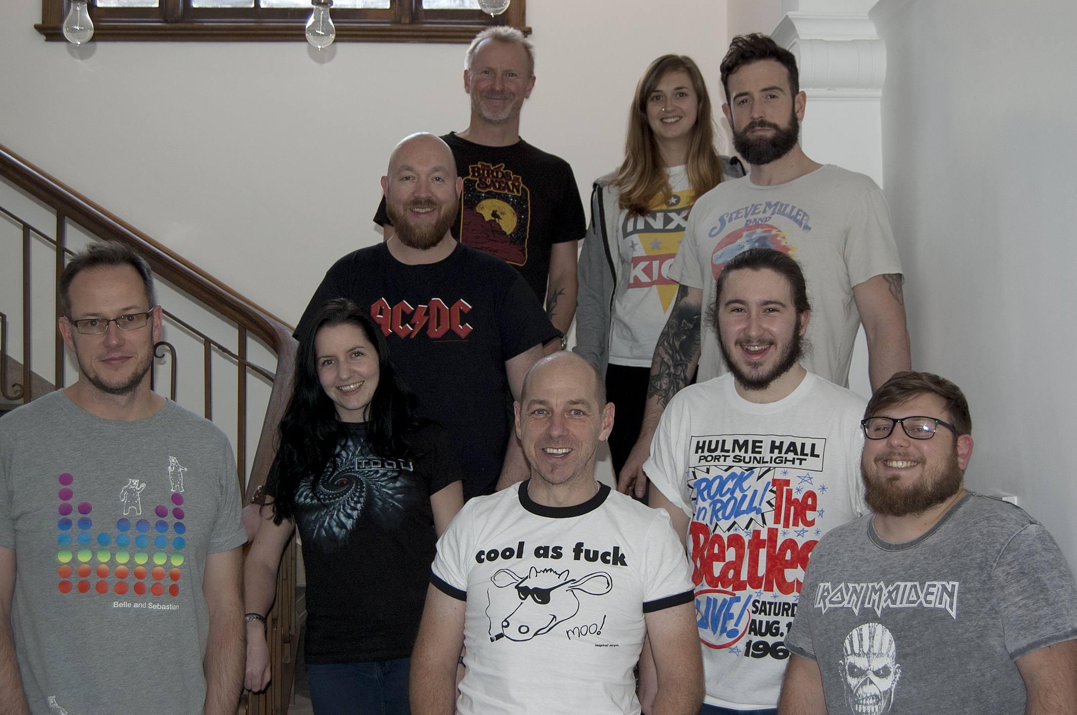 Wear your Favourite Band T-Shirt to Work Day!