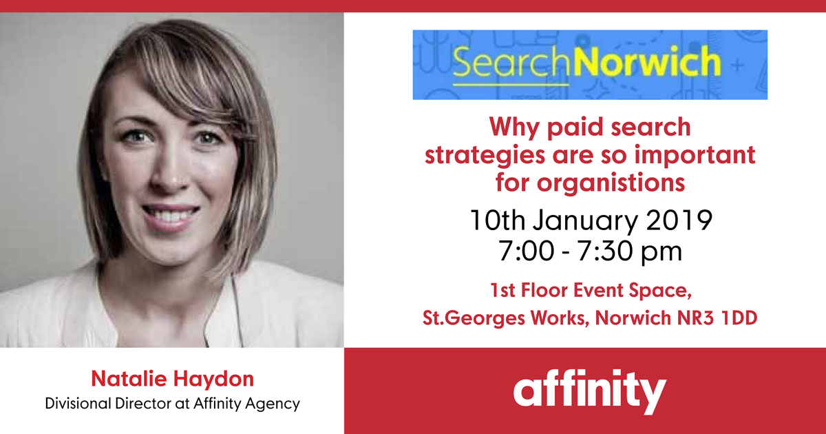 SearchNorwich 4: Why Paid Search Strategies are So Important for Organisations