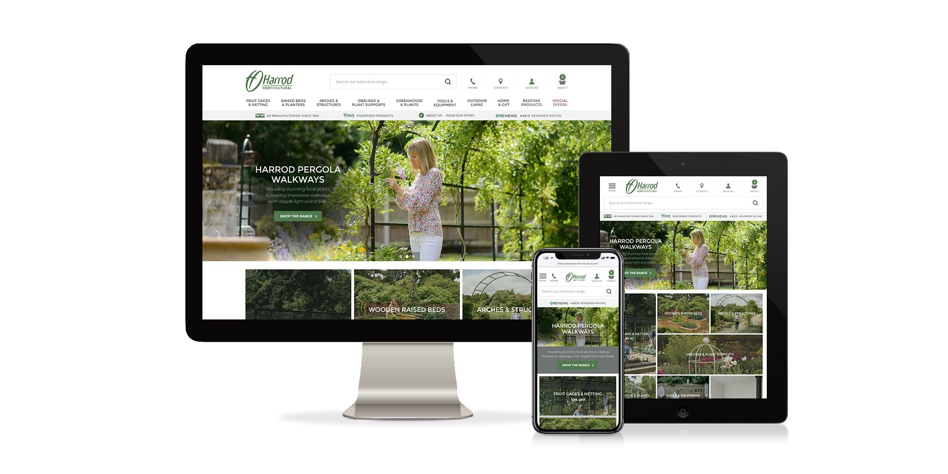 New site launch for long standing Affinity client...