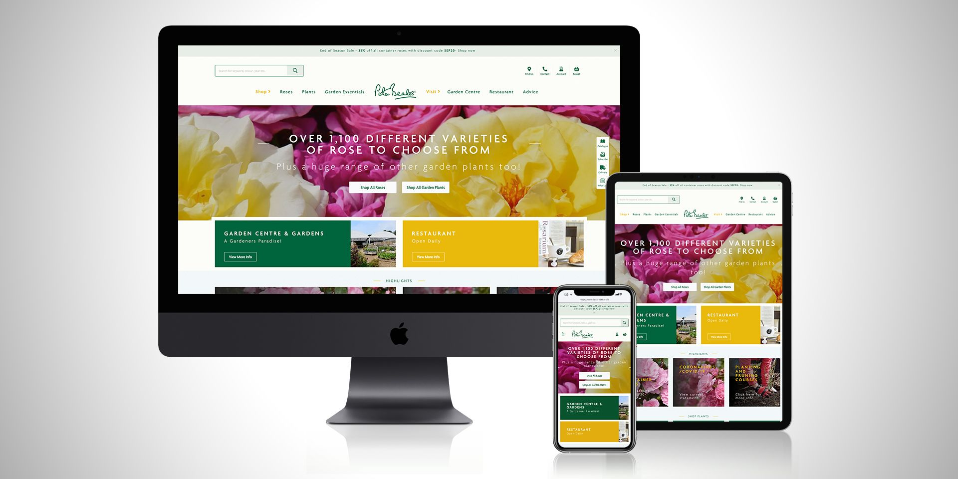 Affinity launch new website for Peter Beales