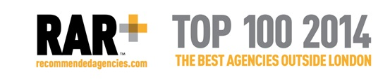 Affinity voted Top 100 agency outside London!
