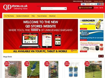 QD Stores Group relaunches transactional website